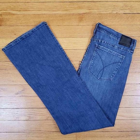 Calvin Klein Denim - Calvin Klein women's jeans boot cut